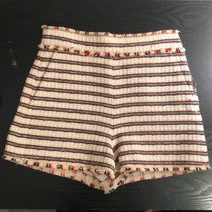 ZARA Woman Fashion Shorts